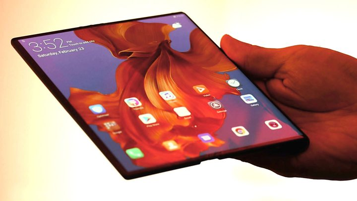 Huawei's foldable Mate X smartphone goes on sale in China