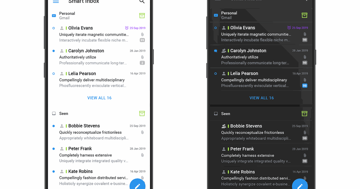 Spark email app gets a fresh redesign and dark mode