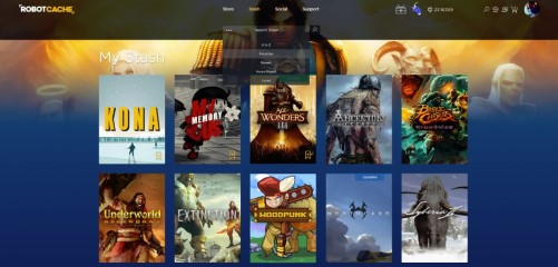 Robot Cache (Buy PC games) : New marketplace launched by AMD