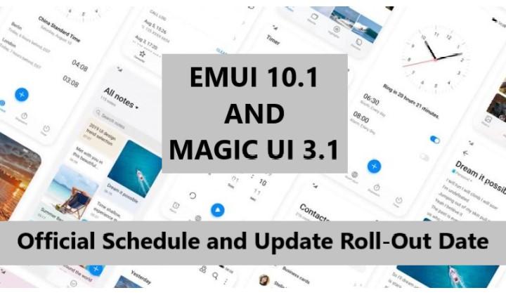 EMUI and Magic UI
