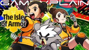 Pokemon Sword & Shield DLC Isle of Armor All Pokemon List