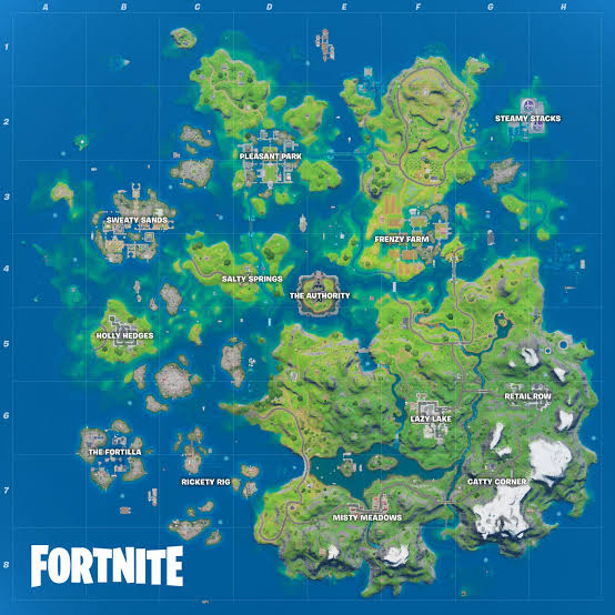 Fortnite Season 4 Island