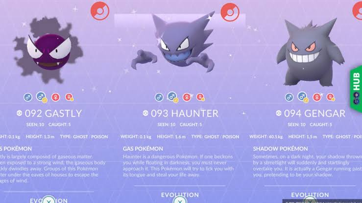 Gastly Community Day Event Evolutions