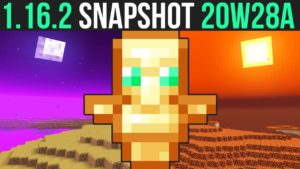 Minecraft Java – Snapshot 20w28a update released today