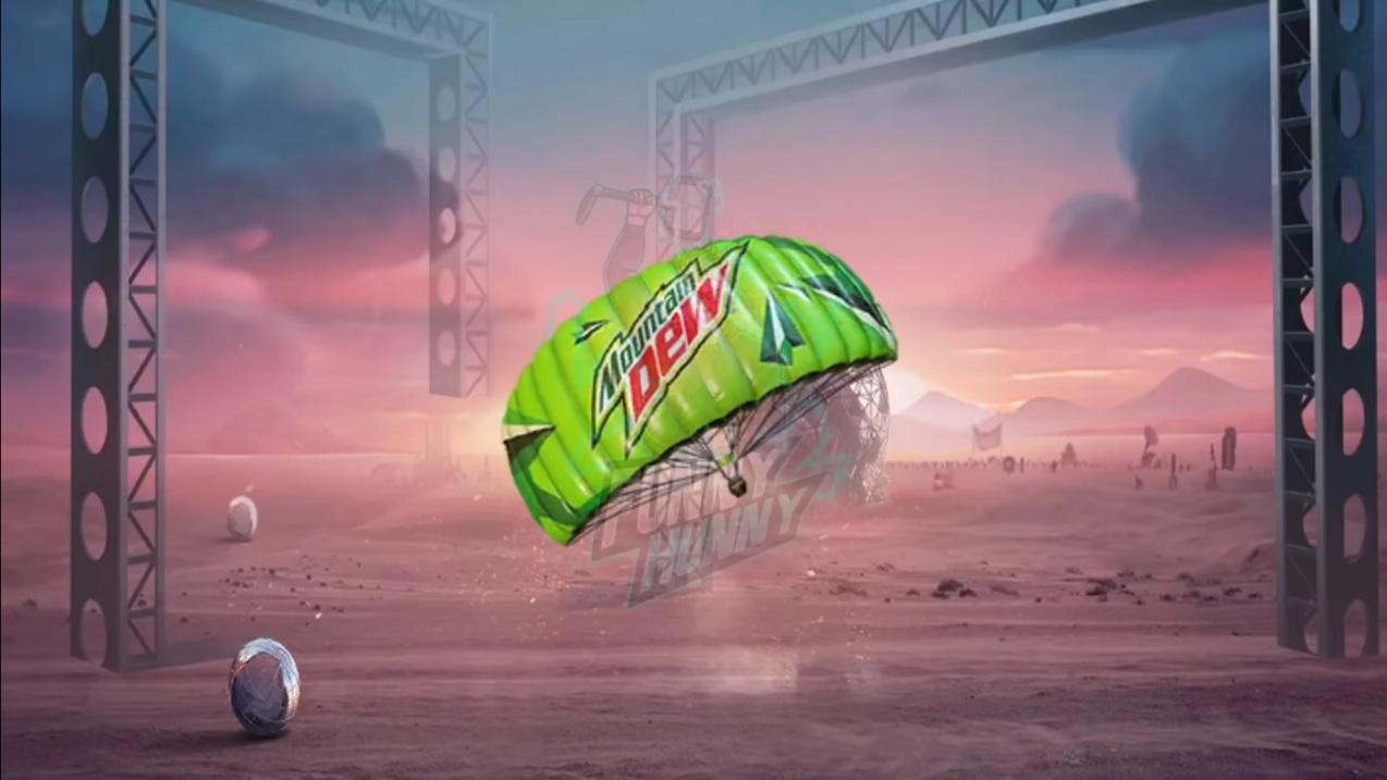 Mountain Dew Parachute
