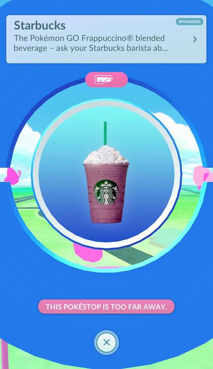 Starbucks Sponsored Gifts