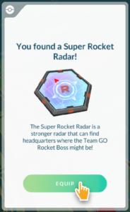 Pokémon Go Super Radar