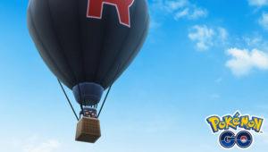 Team Go Rocket Balloon