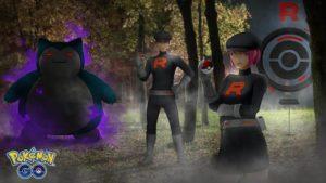 Team Go Rocket Shadow Pokémons