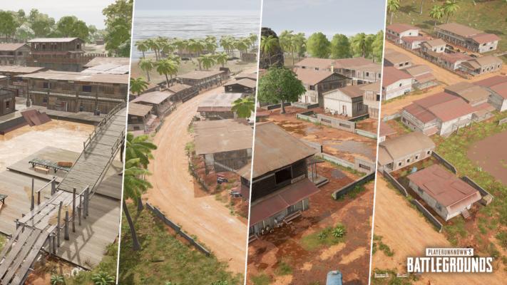 PUBG Update 8.1 Villages