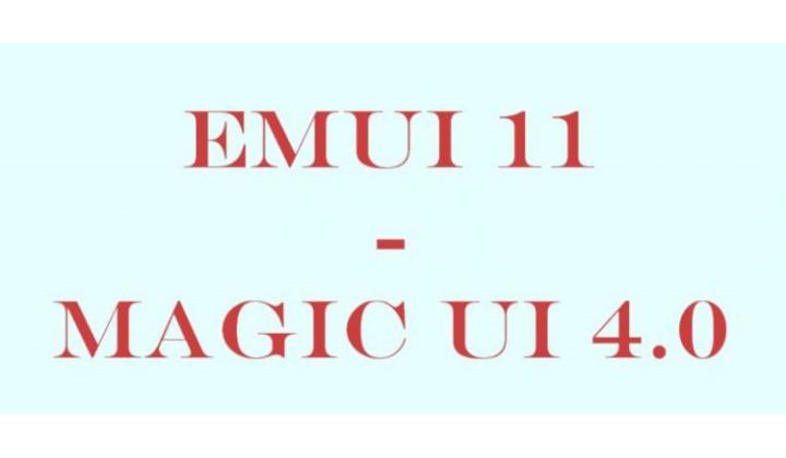 EMUI 11/ MagicUI 4.0
