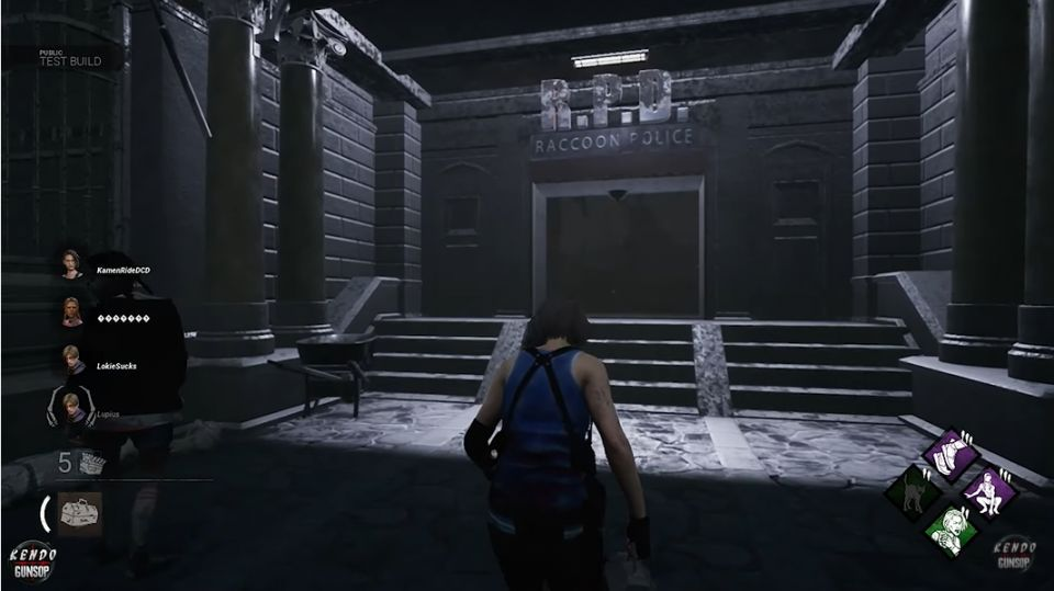 Raccoon City Police Station Map of Dead by Daylight game