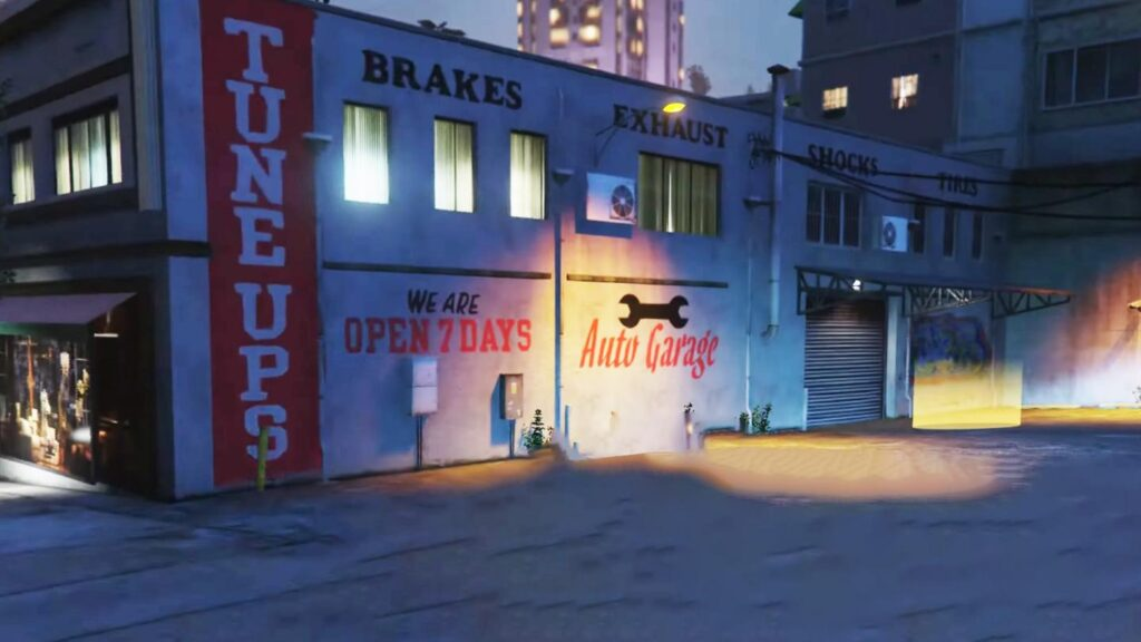 GTA 5 Auto Shop