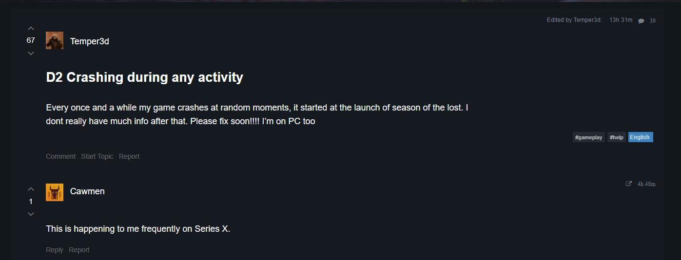 destiny-2-crashing-error-season-15-update-2021