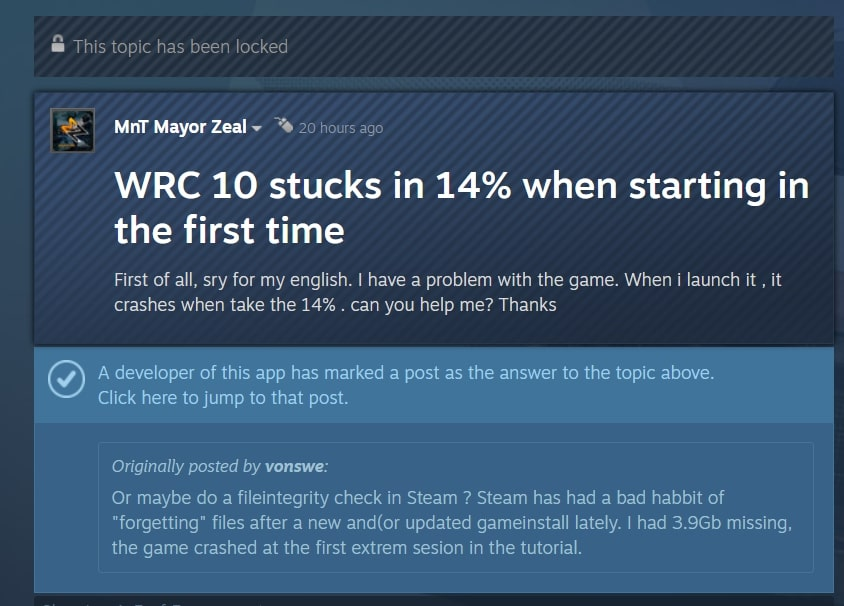 wrc-10-stuck-at-14%-during loading-2021